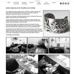 trappola di venere, sara romoli, studio 544, web design, freelance web designer, minnesota, mark lewandowski, hutchinson, mn, corsets, fashion, bustiers, italian clothing